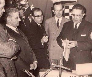 Acto de creación de la Fundación (13 marzo 1968)