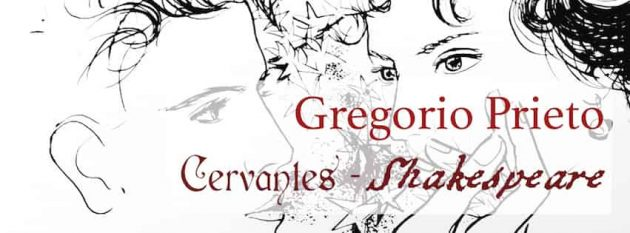 Gregorio Prieto. Cervantes-Shakespeare