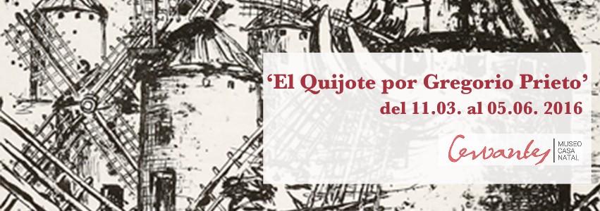 El Quijote por Gregorio Prieto web