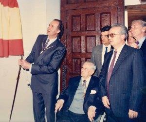 Inauguración del Museo por el Rey Juan Carlos I