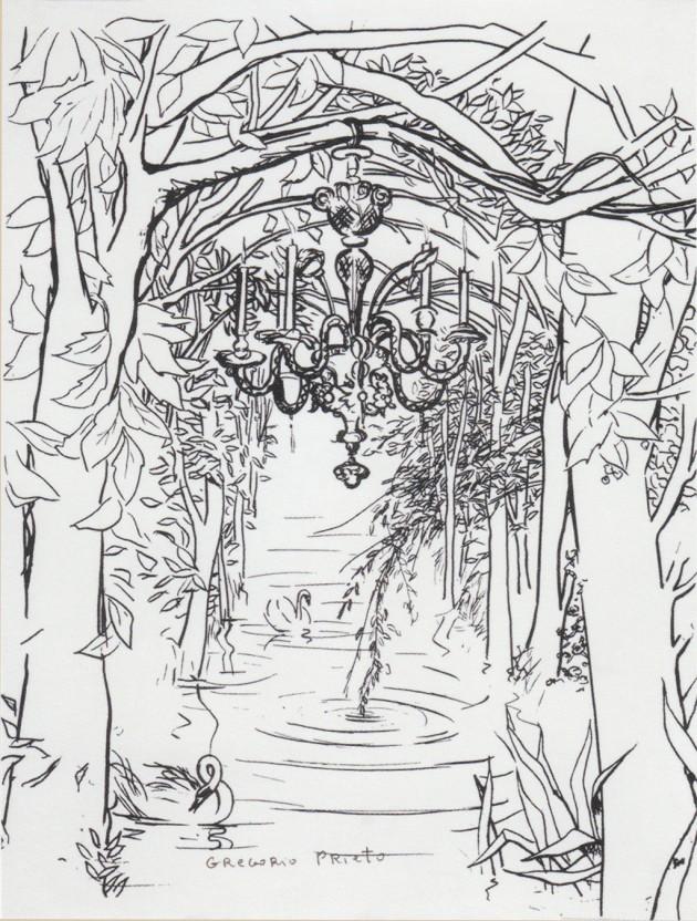 jardin-con-cisnes-serigrafia-1972-1974