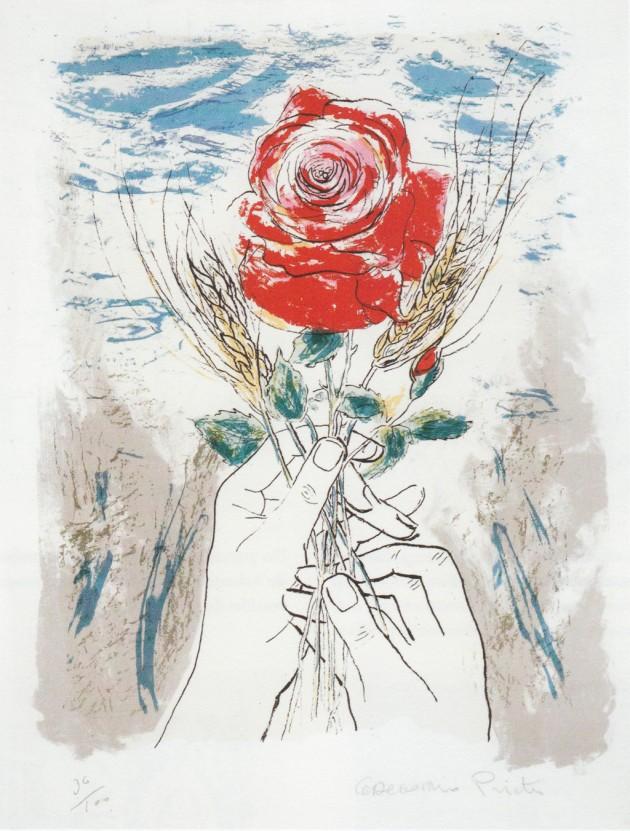 manos-con-rosa-serigrafia-1980-1984