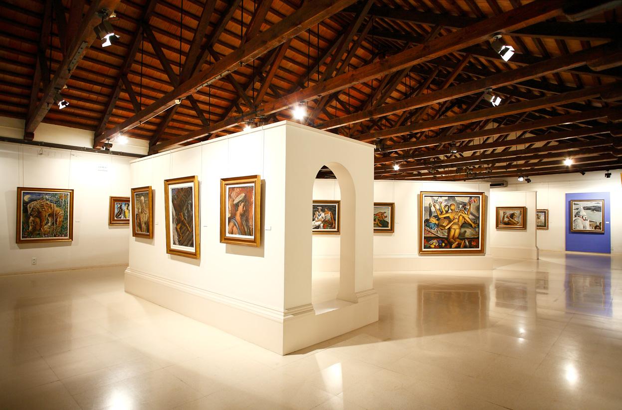 The greek-Italian gallery