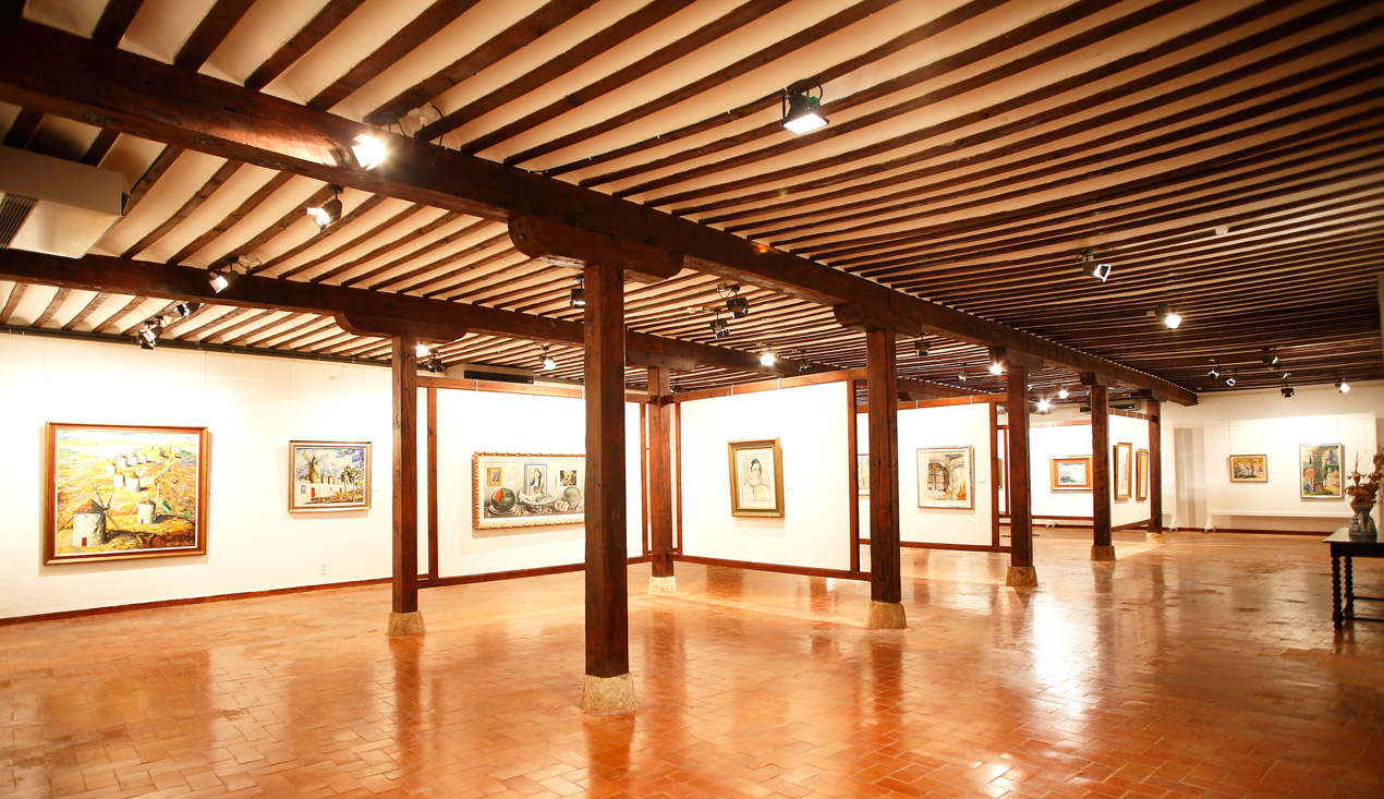 The arcaded gallery