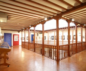 Large central courtyard gallery