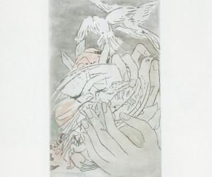 monto-en-un-arcangel-la-biblia-aguafuerte-1982