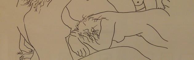 """Detalle ilustración serie """"Cuerpos"""""""