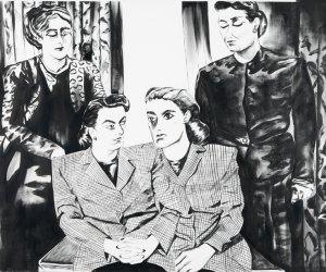 """Tras el espejo"" Marta Beltrán"