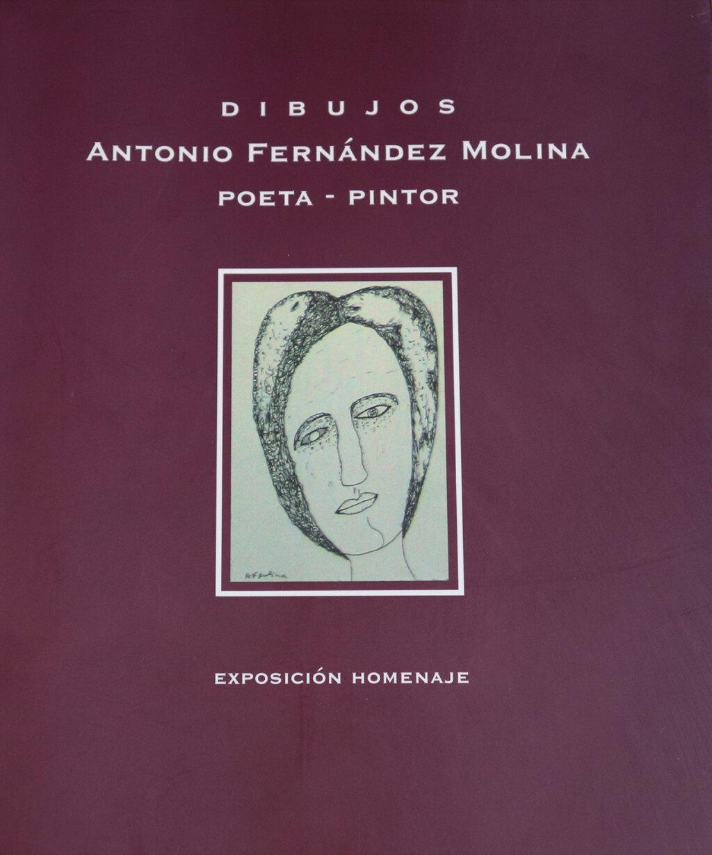 Portada del libro Dibujos Antonio Fernandez Molina Poeta Pintor