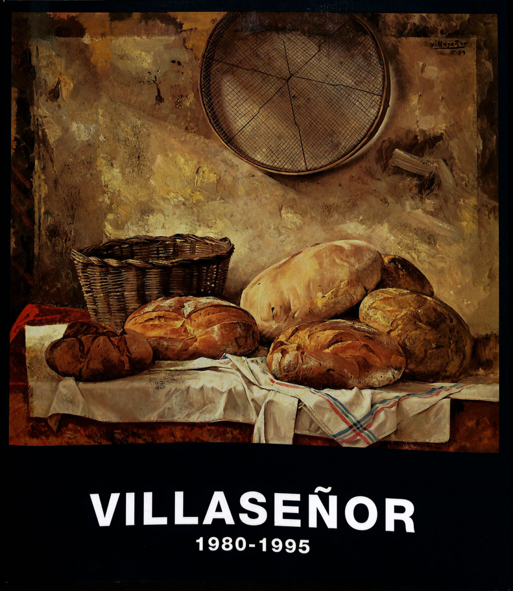 Portada del catálogo de la exposición Villaseñor Museo de la Fundacion Gregorio Prieto